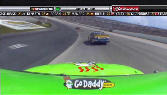 Mark Martin GoDaddy Car Dover